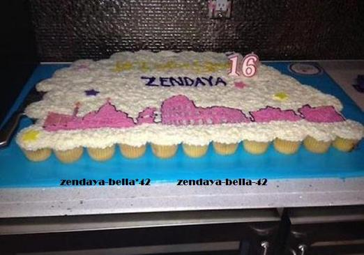 Zendaya coleman fete son anniversaire le : 01/09/12 Photos exclusives .