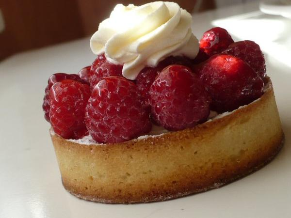 TARTELETTES SABLEES FRAMBOISE/CHANTILLY