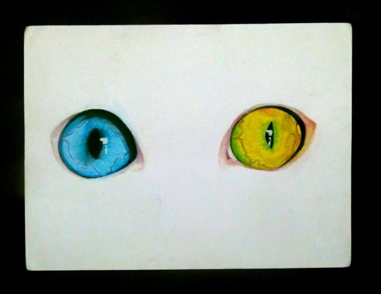 Piso's eyes