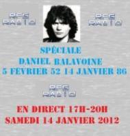 Emission spéciale Balavoine le 14 janvier 2012 sur RPG en direct 17h-20h