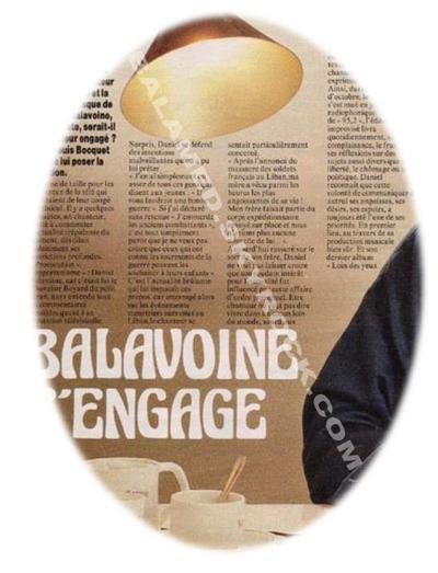 José-Louis Bocquet , Sa rencontre avec Daniel Balavoine (3/3) : Daniel ne se voulait d'aucun parti, si ce n'est celui de l'amour et de la liberté