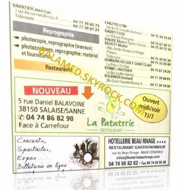 Rue Balavoine,Piperade et Restaurant