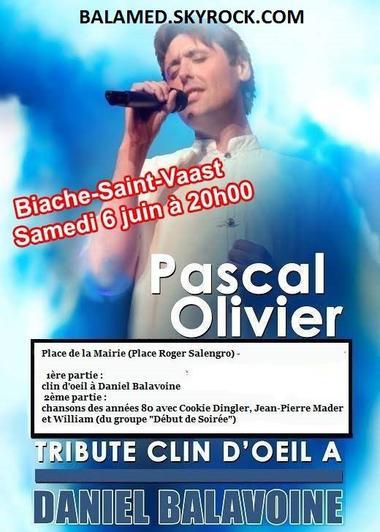 Juin & Juillet:  Tribute Clin d'oeil à Balavoine rend hommage