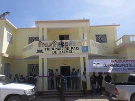 Sud'est - Justice : Nouveau tribunal de Paix de Jacmel