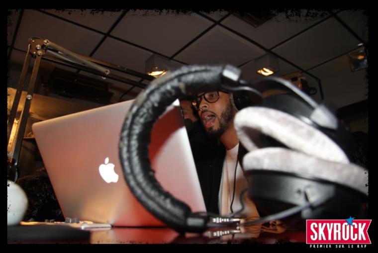 Disiz sur SKYROCK au micro de Plan�te Rap : mercredi