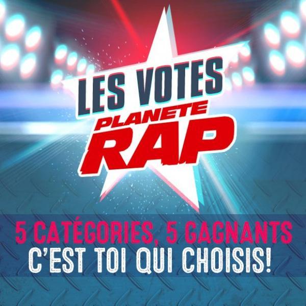 Les Votes Plan�te Rap c'est le 1er d�cembre !