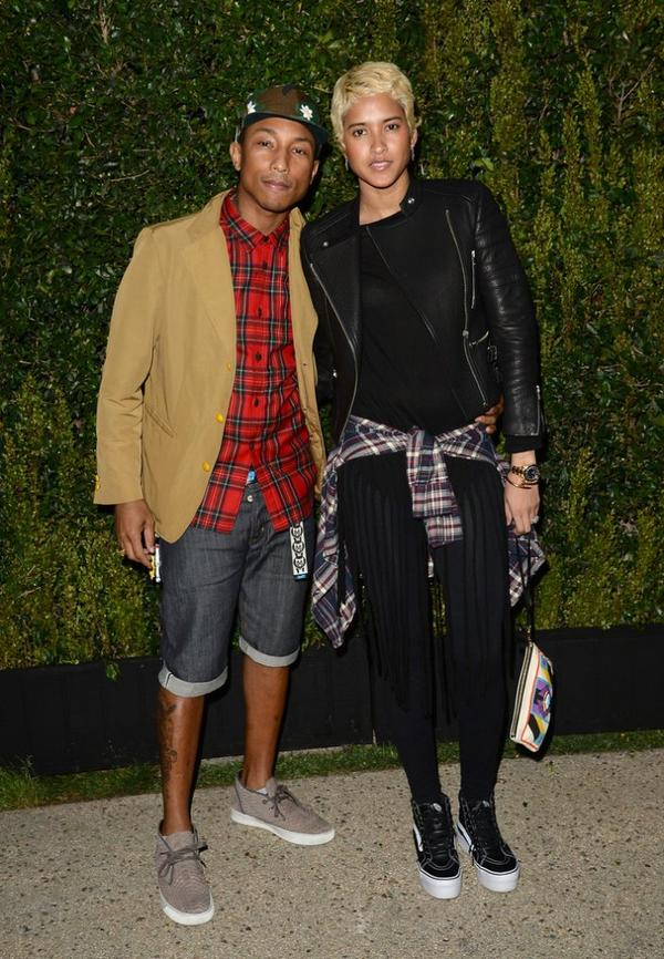 "Pharrell & Helen - Dîner Chanel & NRDC ""A Celebration of Art, Nature and Technology"" - Los Angeles - 31 mai 2013"