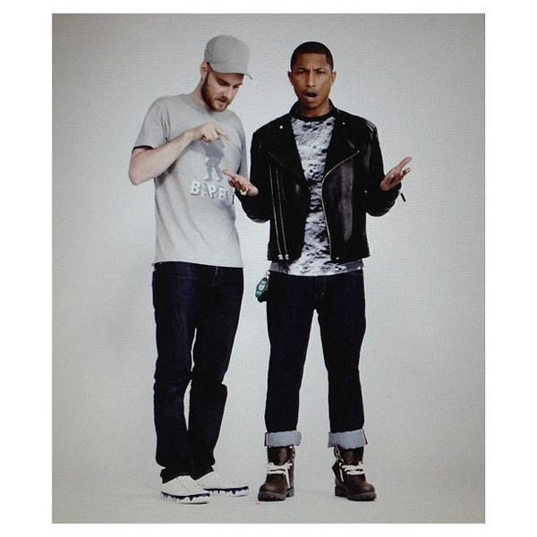 Pharrell - Shoot par Neil Bedford - Londres - 7 juin 2013