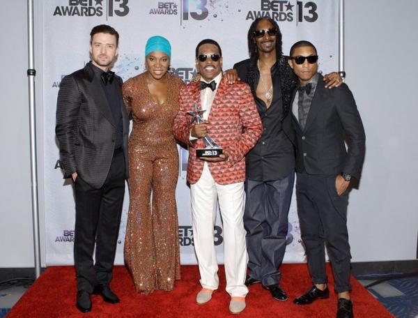 Pharrell - BET Awards - Los Angeles - 30 juin 2013