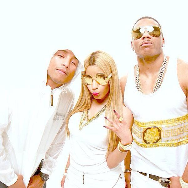 Pharrell, Nicki Minaj & Nelly