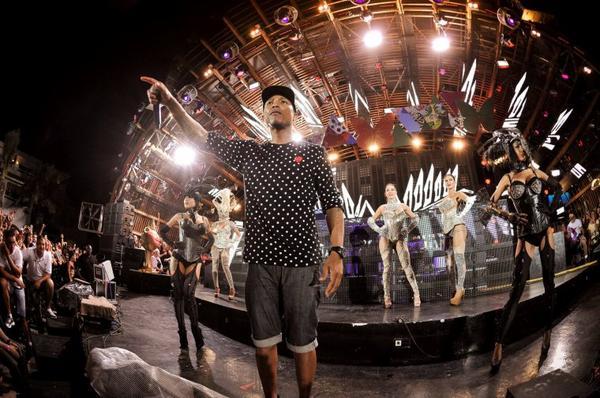 Pharrell - Ibiza - 5 juillet 2013