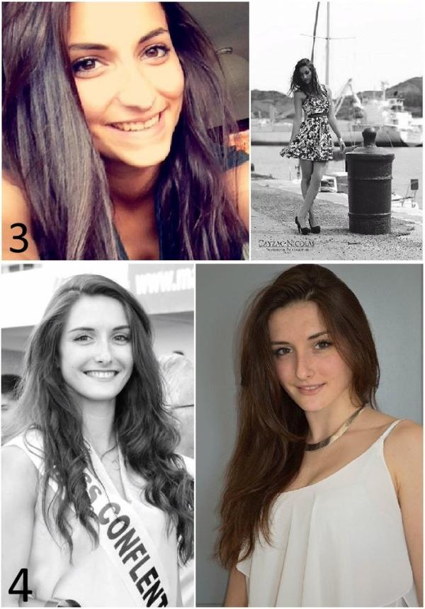 Candidates Miss Roussillon 2015