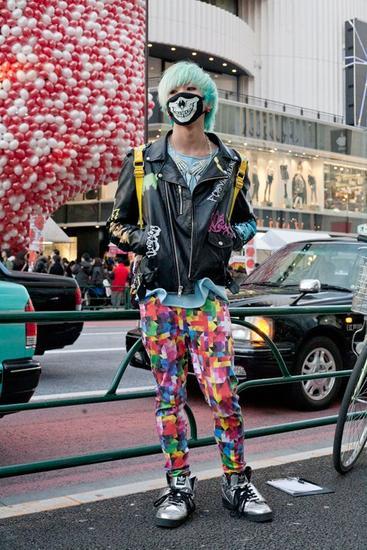 Japanese boy street fashion