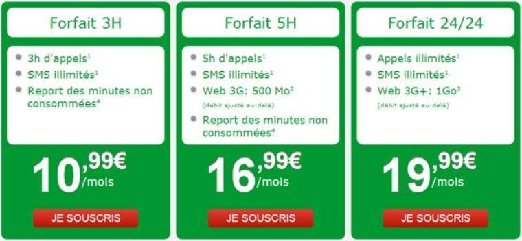 Nrj mobile sort un forfait Wiki 24/24 à 19,99¤ avec appels et SMS illimités et 1Go de Web 3G+