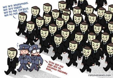 Anonymous, un mouvement engagé au sein d'Internet