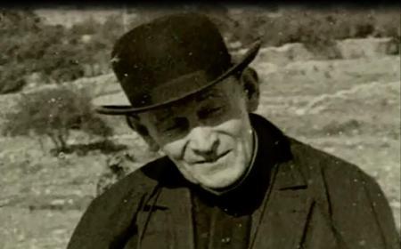 Le Padre Cruz, un grand marcheur