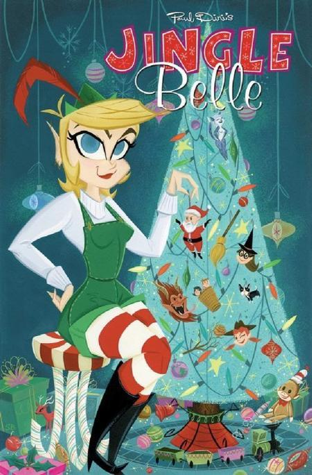 Jingle Belle : la fille rebelle du père Noël
