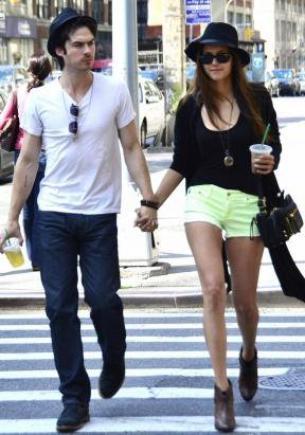 Nina dibrev et Ian Somerhalder