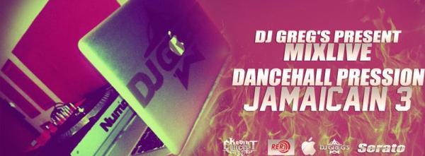 ★ DJ GREG'S PRESSION DANCEHALL Part.III ★20MinuteMixLive#