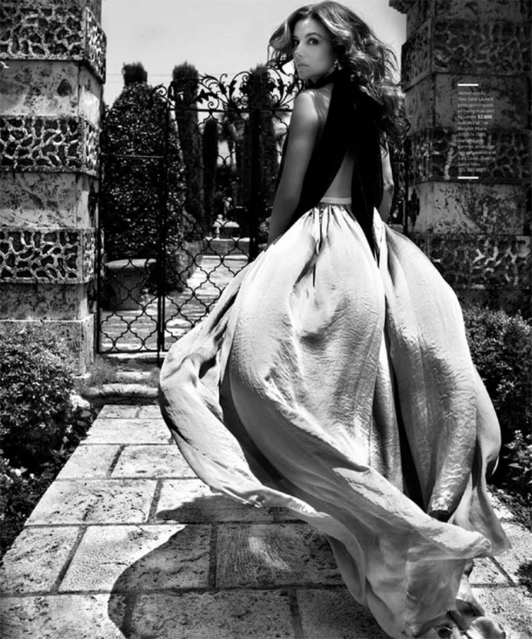 Eva Longoria for Haute Living  ( July 2011 )