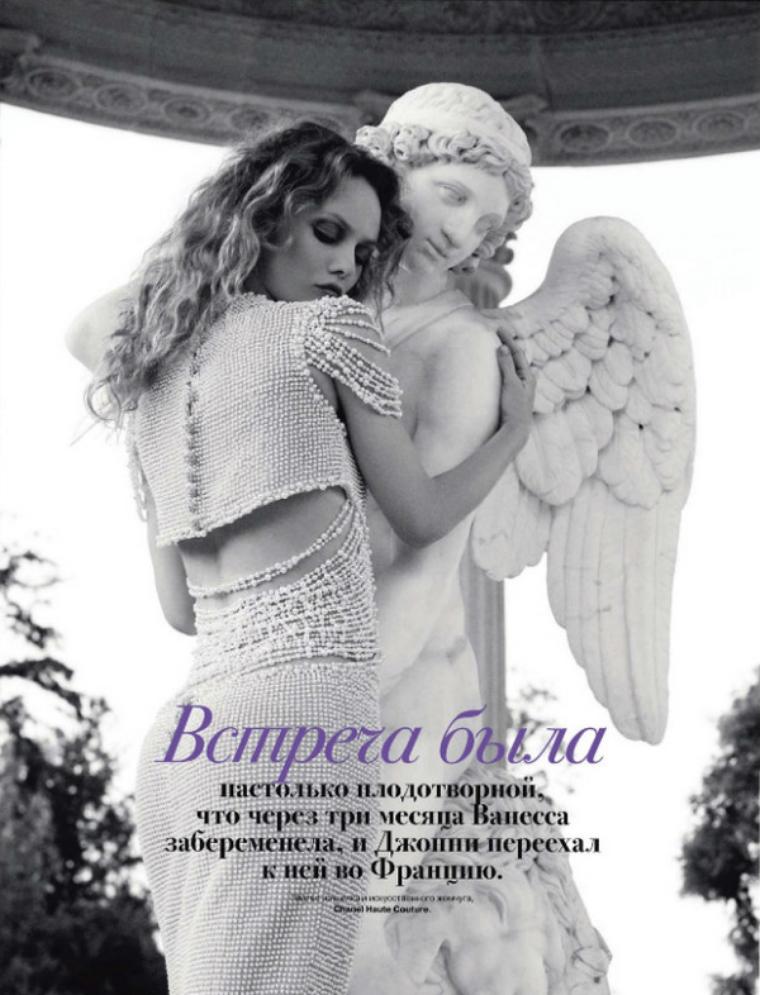 Vanessa Paradis for Tatler Russia ( July 2011 )