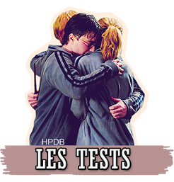 Test  > Harry Potter  ♥