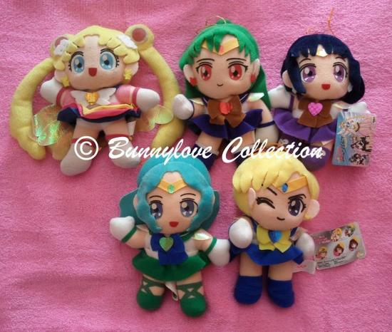 Sailor Star Plush - Set 1