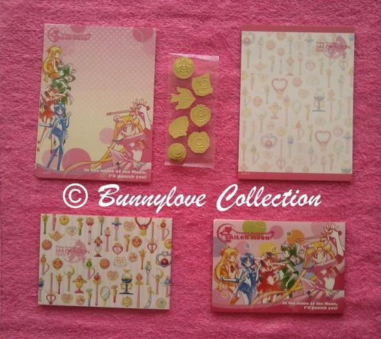 Sailor Moon Letter Set 1