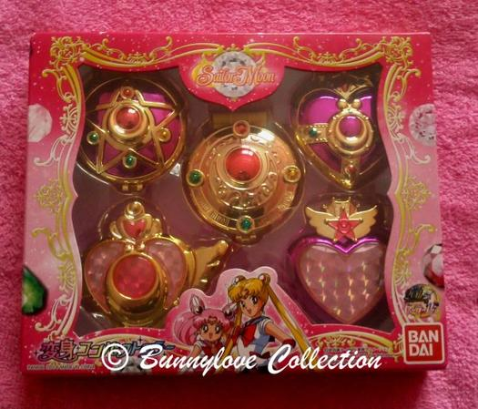 Bandai  Sailor Moon Compact Mirror Gashapon