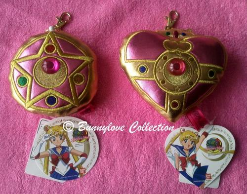 Bandai - Sekiguchi - Sailor Moon 20th Anniversary - Sailor Moon Pass Case - Crystal Locket & Cosmic Heart