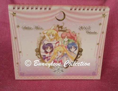 Sailor Moon Crystal Calendar 2015
