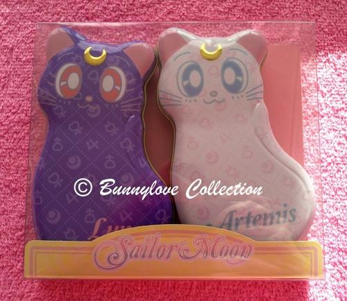 Heart Ldt - Sailor Moon 20th Anniversary - Luna & Artemis Tins Chocolate
