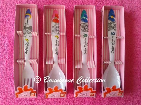 Sailor Moon Spoon & Fork
