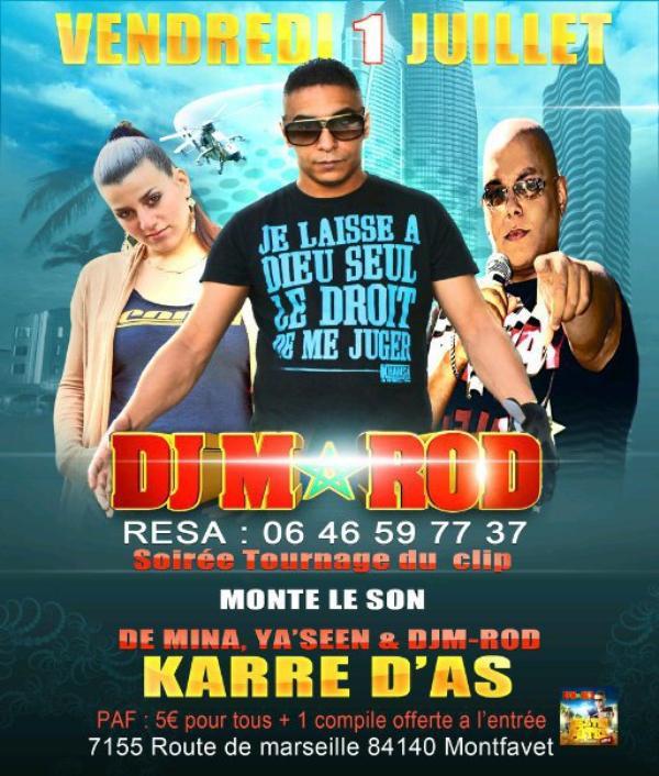 ★☆★ TOURNAGE DU CLIP ★☆★ ♫ ♬ Monte le Son ♬ ♫ ★ M.I.N.A, Ya'seen & Dj M-ROD ★