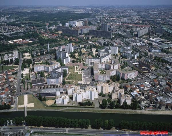 Les   Francs   Moisins ,  Bel  Air .              Saint-DenisSeine     St Denis (93)