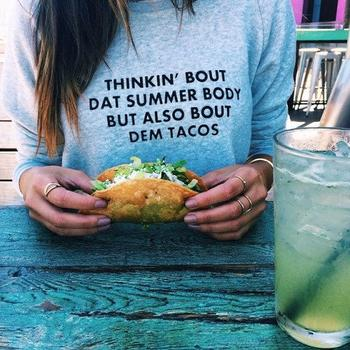 C'est facile pour moi de d�penser 15� dans la bouffe mais si un t-shirt co�te 15� je vais m'arr�ter et r�fl�chir si �a en vaut vraiment le co�t.