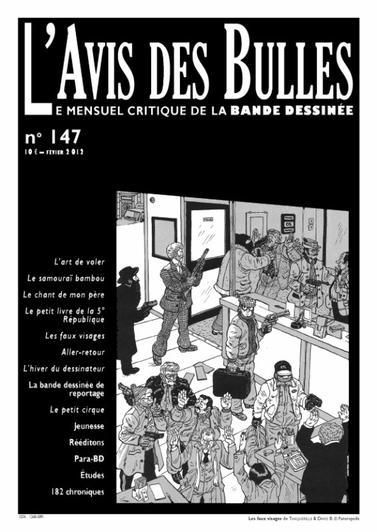 L'avis des bulles n� 147 - f�vrier 2012