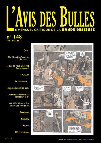 L'avis des bulles n� 148 - mars 2012