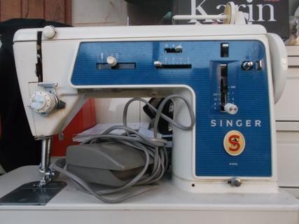 pi�ces pour la Singer 656g trouv�es