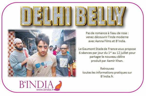 Le film Delhi Belly bientôt en salles françaises !