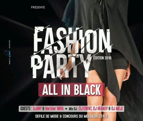 Fashion Party II, ce 19 aout � Kinshasa