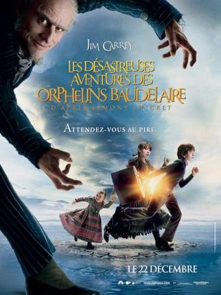 Les d�sastreuses aventures des orphelins de Baudelaire.