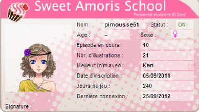 •• Jeu Amour Sucr� | Article n�07 | > Only-Pimousse �