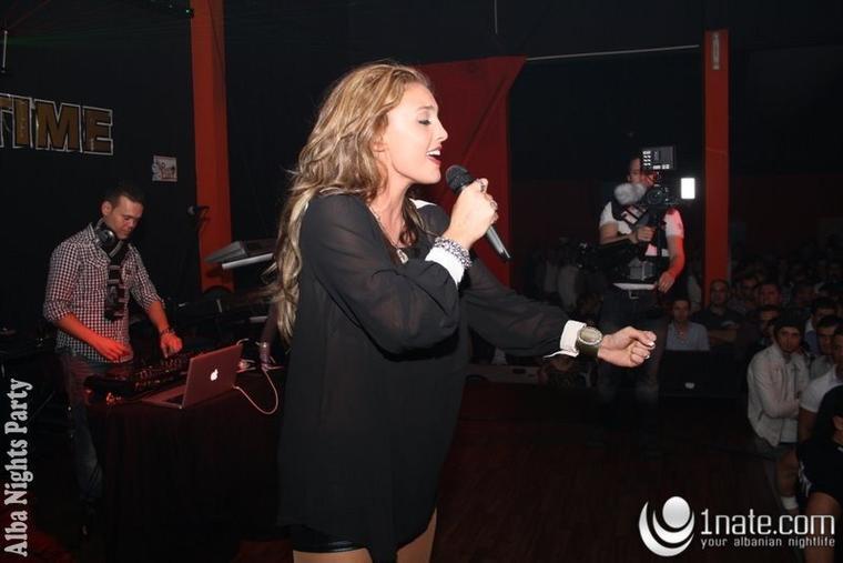 Genta Ismajli - Alba-Nights Party - 05.11.11