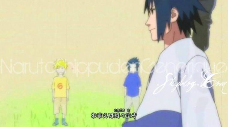 Sasuke and his friend
