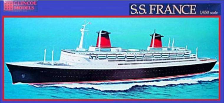 S/S FRANCE maquette AIRFIX