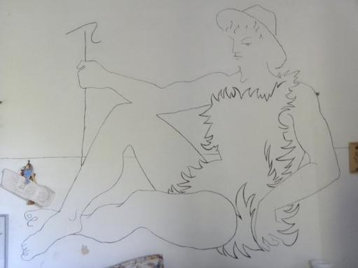 Maison Jean Cocteau Tatouée » Par Jean Cocteau