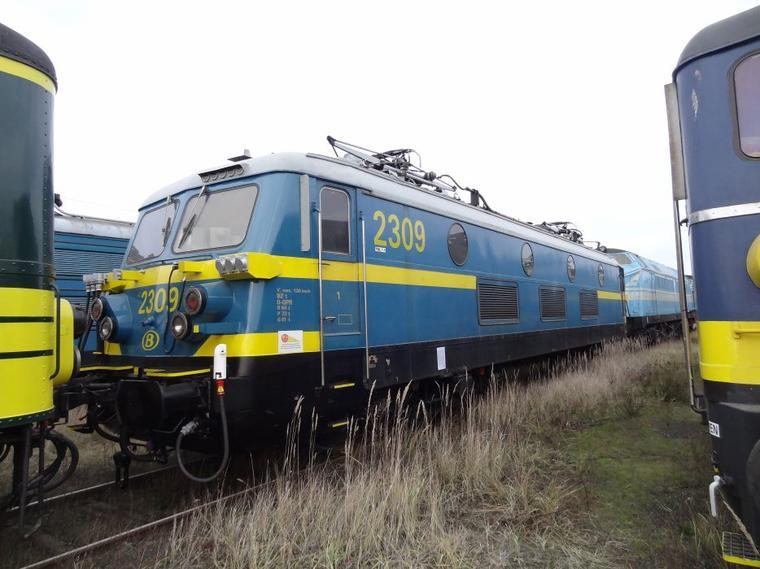D�couverte du patrimoine ferroviaire belge (1) : le mus�e R�trotrain de St-Ghislain