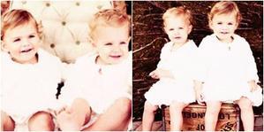 • •  Voici des nouvelles photos des jumelles Ali et Suzanne Hartmann : elles jouent Christine Angela Booth. La fille de B&B ! Elles sont trop mignonne (l)    • •