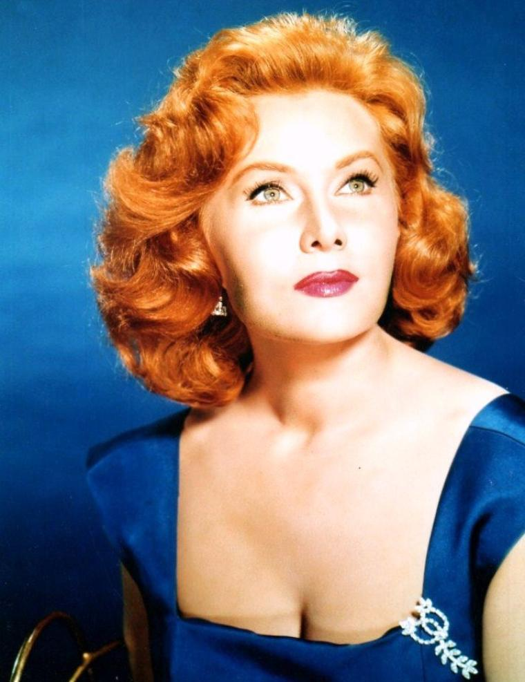 Rhonda FLEMING (n�e Marilyn LOUIS) est une actrice am�ricaine n�e le 10 ao�t 1923 � Hollywood, Los Angeles, Californie (�tats-Unis).